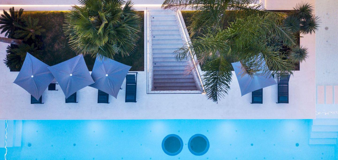 The neon pool